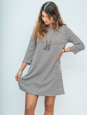 checkered dress 1