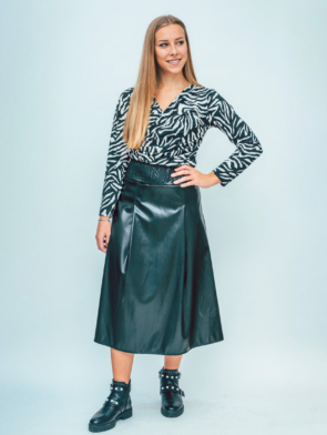 leatherlook skirt 2