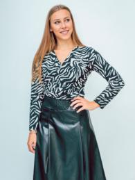 white zebra blouse 2